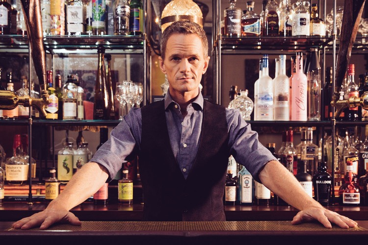 Neil Patrick Harris at a bar