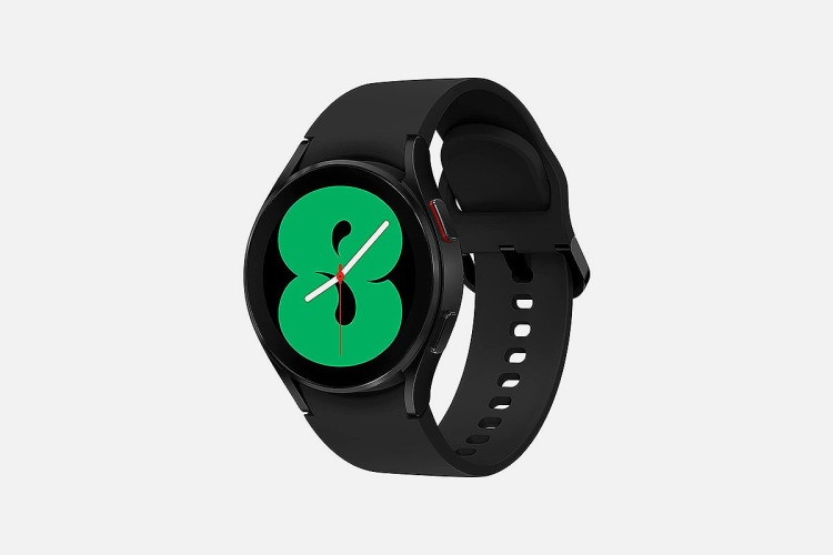 A picture of the new Samsung Galaxy Watch4, now on sale at Woot