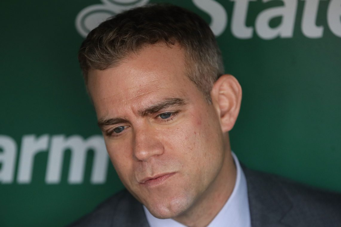 Former president of baseball operations for the Chicago Cubs Theo Epstein. The Mets may have interest in bringing him in, according to multiple reports.