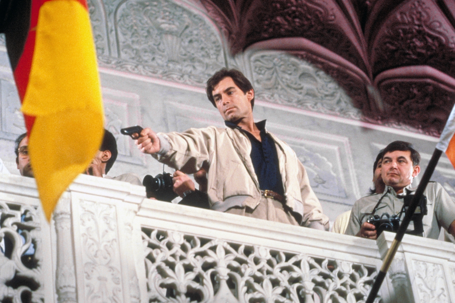 """Timothy Dalton in 1987's """"The Living Daylights."""""""